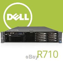 Dell R710 2x Xeon Quad E5640 2.66GHz Coeur Intel 16GB RAM 8 SFF Raid Rack Server