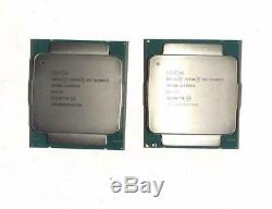 Matched PAIR 2x Intel Xeon E5-2630 V3 SR206 2.4GHZ 8 core 20MB Cache processor